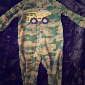 Camo Footed PJs
